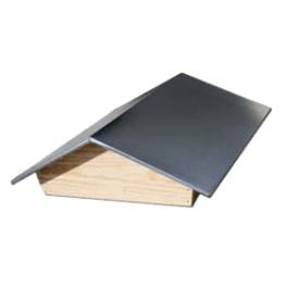 Toit chalet en bois tôlé Dadant 12