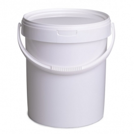 seau plastique 8 6 litres 10 kg miel gabriel berger des abeilles. Black Bedroom Furniture Sets. Home Design Ideas