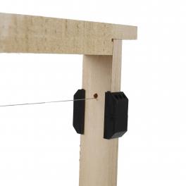 Crampon plastique 25 mm espacement Hoffmann