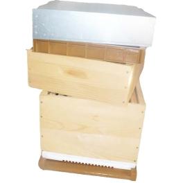 Ruche D10 bois/plastique tenons complète