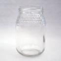 Pot verre rond 385 ml frise alvéolée 500 g miel TO63